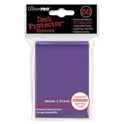 50 Bustine Protettive Standard - Ultra Pro - Viola