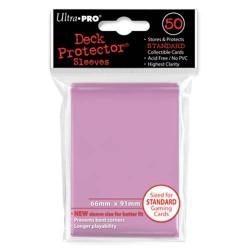 50 Bustine Protettive Standard - Ultra Pro - Rosa
