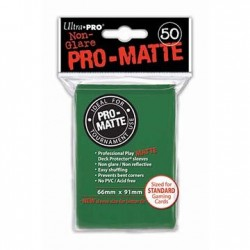 50 Bustine Protettive Pro-Matte - Ultra Pro - Verde