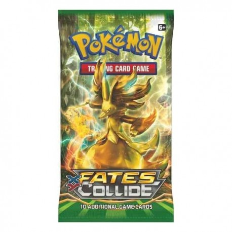 Booster of 10 Cards - XY - Fates Collide ENG - Pokemon