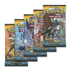 Booster of 10 Cards ENG - Sun & Moon - ITA - Pokemon