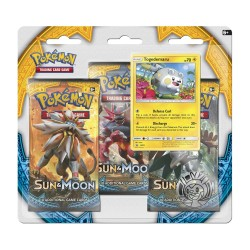 Blister da 3 Buste da 10 Carte - Sole & Luna - ENG - Pokemon
