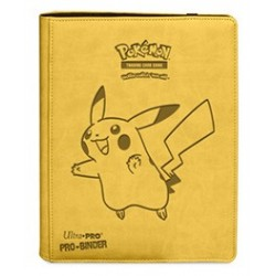 Portfolio - 9 Pocket - 20 Pages - Pro Binder - Ultra Pro - Pokemon Pikachu Premium