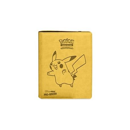 Portfolio - 9 Tasche - 20 Pagine - Pro Binder - Ultra Pro - Pokemon Pikachu Premium