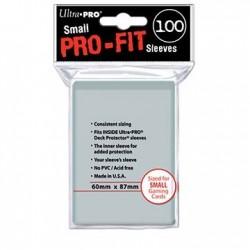 100 Bustine Protettive Small Perfect Pro Fit - Ultra Pro - Trasparenti