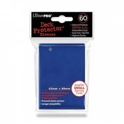 60 Sleeves Small - Ultra Pro - Blue