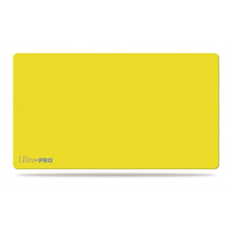 Playmat - Solid Colors - Ultra Pro - Yellow