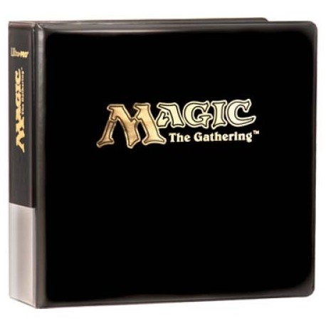 Binder - 3 Rings - Collectors Album - Ultra Pro - MTG Black
