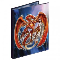 Portfolio - 4 Pocket - 20 Pages - Pro Binder - Ultra Pro - YGO Spiral Dragon