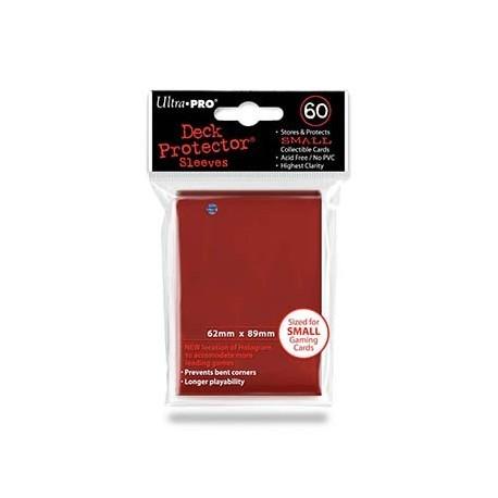 60 Bustine Protettive Small - Ultra Pro - Rosso