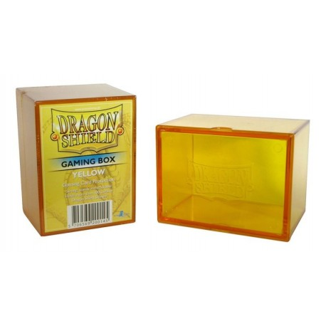 Deck Box Gaming Box - Dragon Shield - Yellow