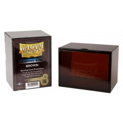 Porta Mazzo Gaming Box - Dragon Shield - Marrone