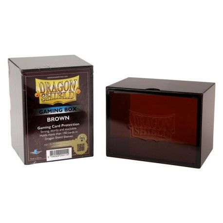 Deck Box Gaming Box - Dragon Shield - Brown