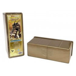 4 Compartment Box Card Box - Dragon Shield - Gold