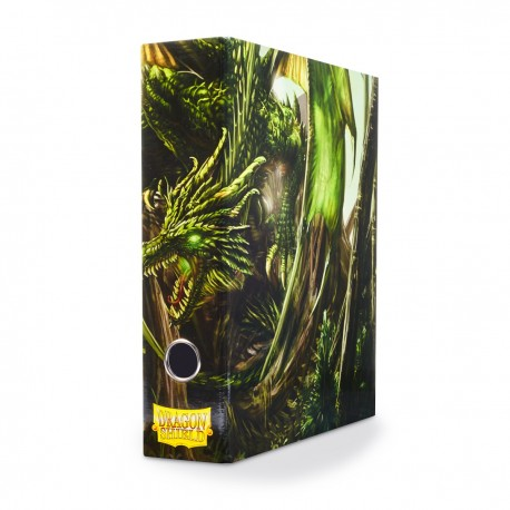 Slipcase Binder - Dragon Shield - Green Radix