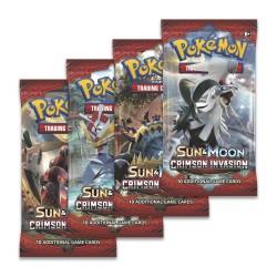 Busta da 10 Carte - Sole & Luna - Ombre Infuocate - ENG - Pokemon