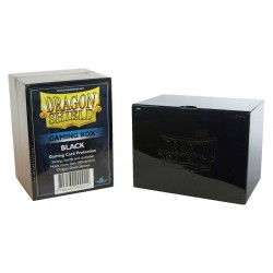 Deck Box Gaming Box - Dragon Shield - Black