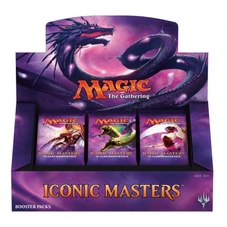 Box di 24 Buste - Iconic Masters ENG - Magic The Gathering