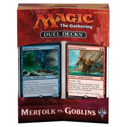 Duel Decks - Merfolk vs. Goblin ENG - Magic The Gathering