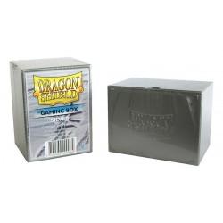 Porta Mazzo Gaming Box - Dragon Shield - Argento