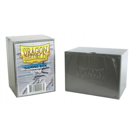 Deck Box Gaming Box - Dragon Shield - Silver