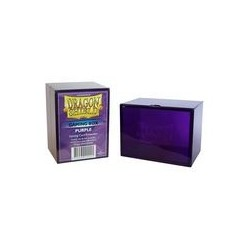 Porta Mazzo Gaming Box - Dragon Shield - Viola