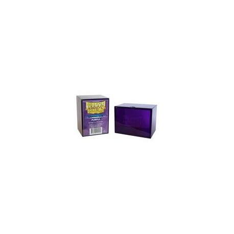 Deck Box Gaming Box - Dragon Shield - Purple