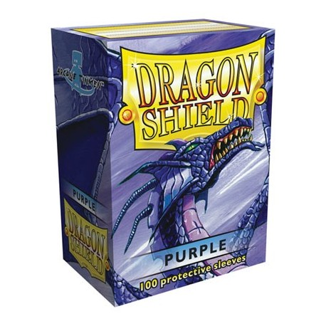 100 Sleeves Standard - Dragon Shield - Purple