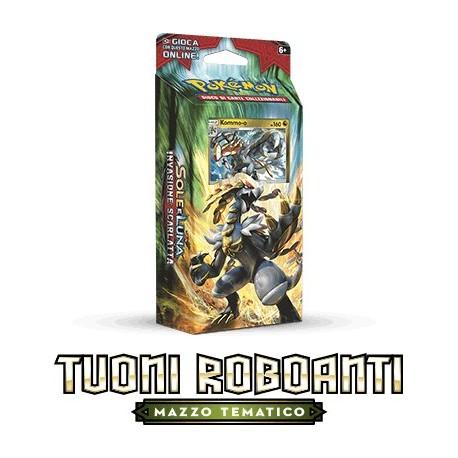 Theme Deck - Clanging Thunder - Pokemon ITA - Sun & Moon - Crimson Invasion - Kommo-o