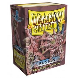 100 Bustine Protettive Standard - Dragon Shield - Fusion