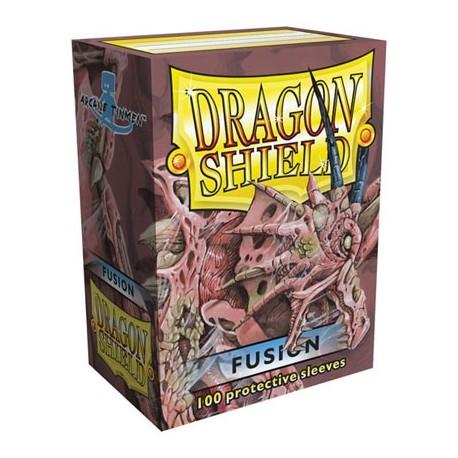 100 Sleeves Standard - Dragon Shield - Fusion