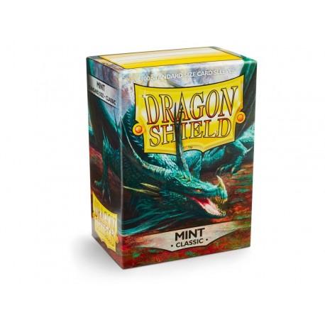 100 Sleeves Standard - Dragon Shield - Mint