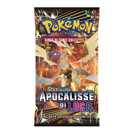 Booster of 10 Cards - Sun & Moon - Forbidden Light - ITA - Pokemon