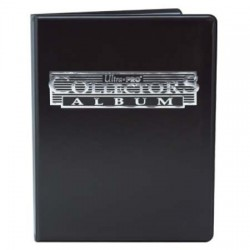Portfolio - 9 Pocket - 10 Pages - Collectors Porfolio - Ultra Pro - Black