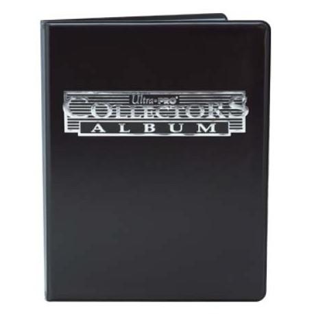 Portfolio - 9 Tasche - 10 Pagine - Collectors Portfolio - Ultra Pro - Nero