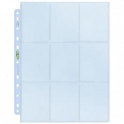 100 Pages for Album Ultra Pro Platinum Side Load - 9 Pocket Standard - 11 Holes