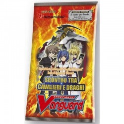 Booster of 5 Cards - Clash of the Knights and Dragons - BT09 - ITA - Vanguard