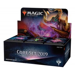 Box di 36 Buste - Set Base 2019 ENG - Magic The Gathering