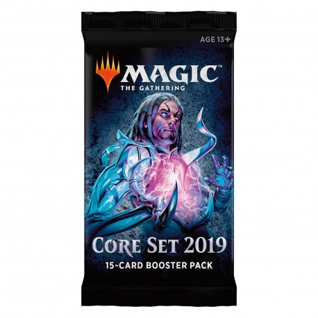 Booster of 15 Cards - Core Set 2019 ENG - Magic The Gathering