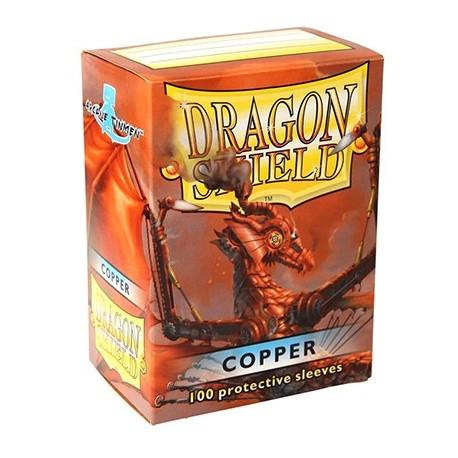 100 Sleeves Standard - Dragon Shield - Copper