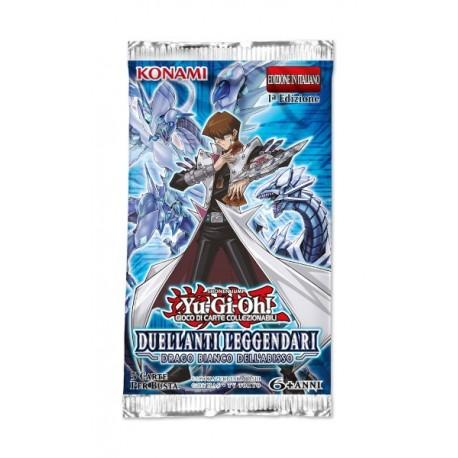 Busta da 5 Carte - Duellanti Leggendari: Drago Bianco dell'Abisso ITA - Yu-Gi-Oh - 1a Edizione