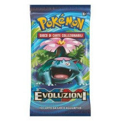 Booster of 10 Cards - Evolutions ITA - Pokemon