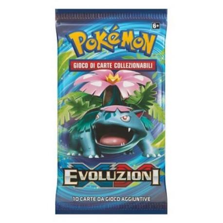 Booster of 10 Cards - Evolutions ITA - Pokemon
