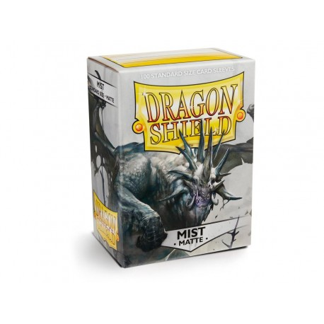 100 Sleeves Standard Matte - Dragon Shield - Mist