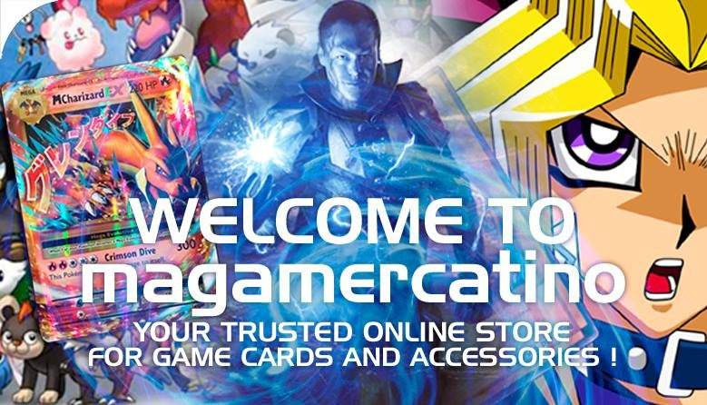 Welcome to MagaMercatino your Trusted Online Store for Gaming Cards and Accessories!