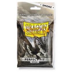 100 Bustine Protettive Standard Perfect Fit - Dragon Shield - Smoke