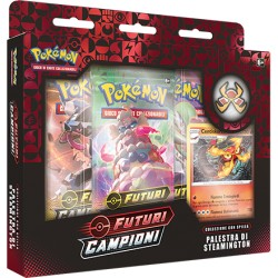 Collection Steamington Gym Box ITA - Champion's Path - Pokemon