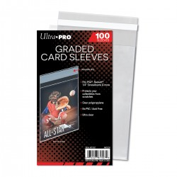 100 Graded Card Sleeves Resealable - Ultra Pro