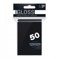 50 Sleeves Standard - Ultra Pro - Black