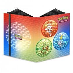 Portfolio - 9 Pocket - 20 Pages - Pro Binder - Ultra Pro - Pokemon Sword and Shield Galar Starters